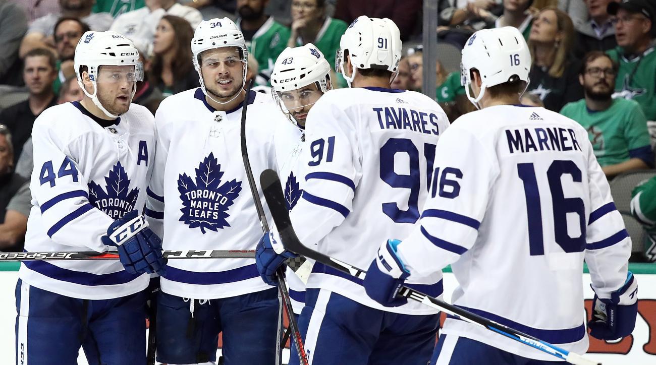 Toronto Maple Leafs v Dallas Stars