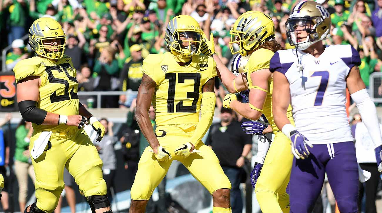 Oregon vs. Washington: Ducks shake up Pac-12's playoff hopes