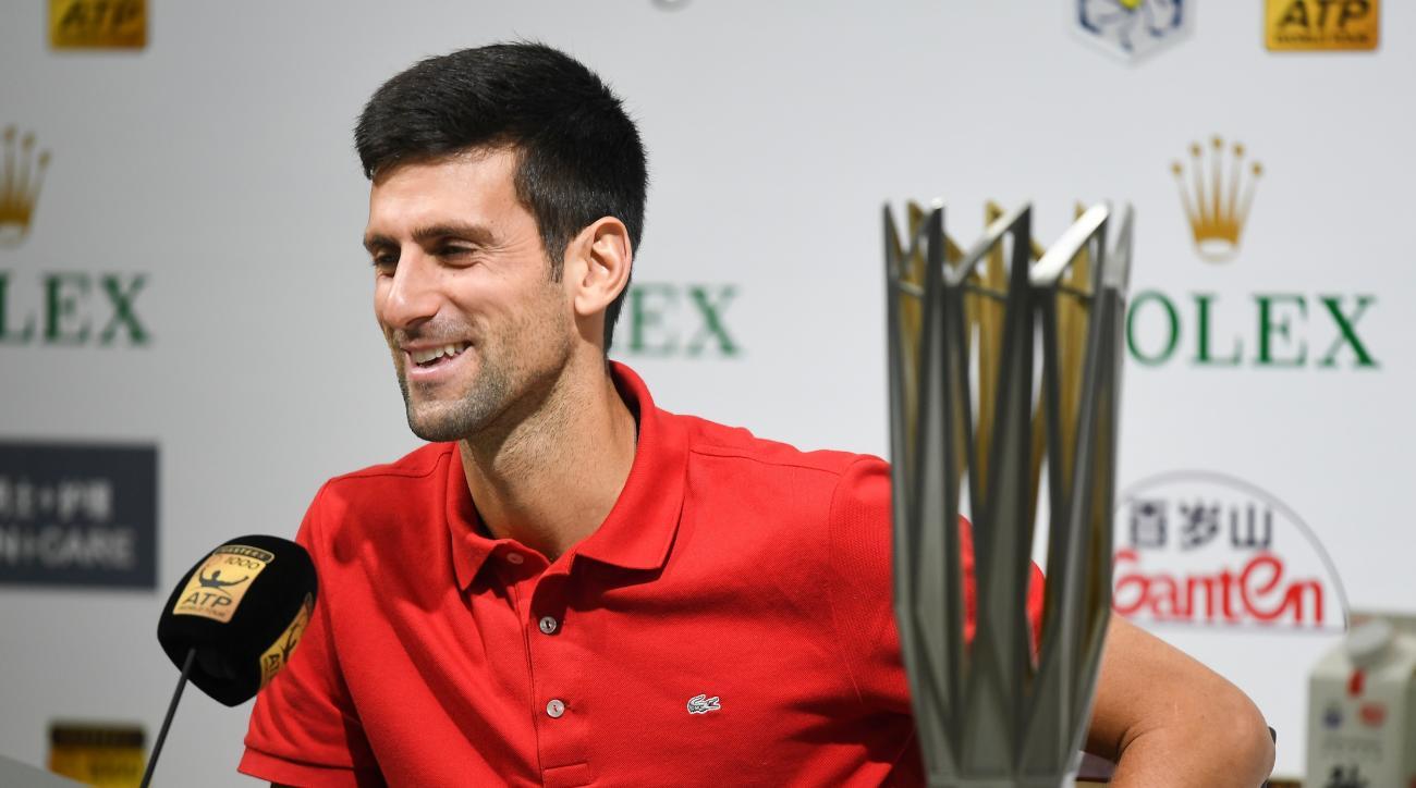 Novak Djokovic shanghai masters borna coric