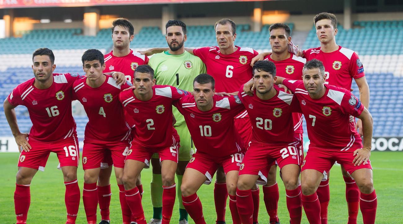 Gibraltar national team armenia