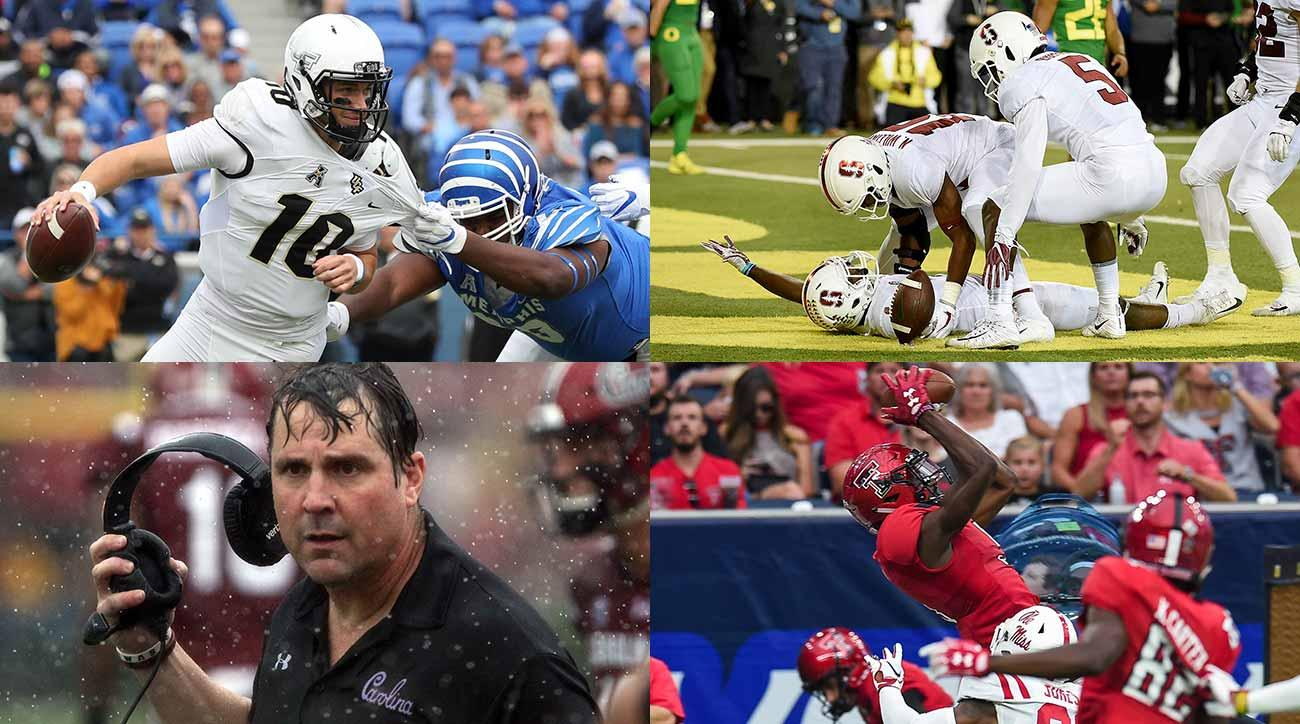 College football midseason superlatives: UCF, Clemson, TJ Vasher, Tom Herman and more