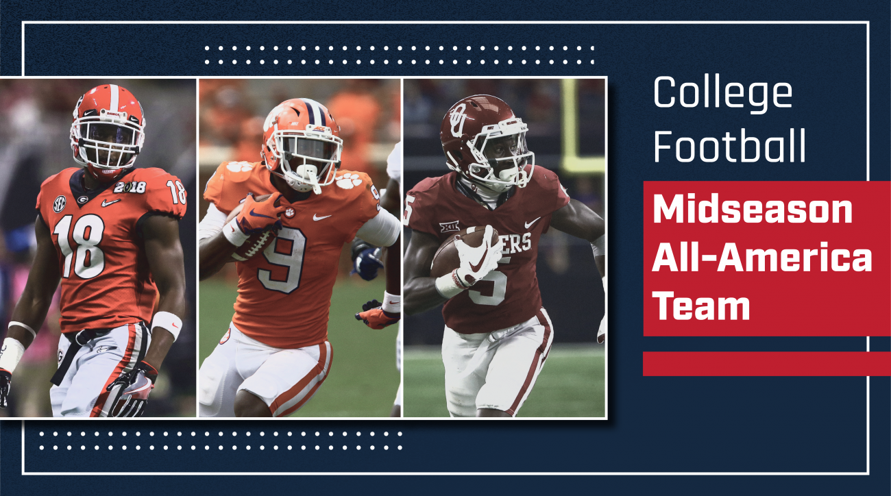 Midseason college football all america teams: Tua Tagovailoa, Travis Etienne, Ed Oliver