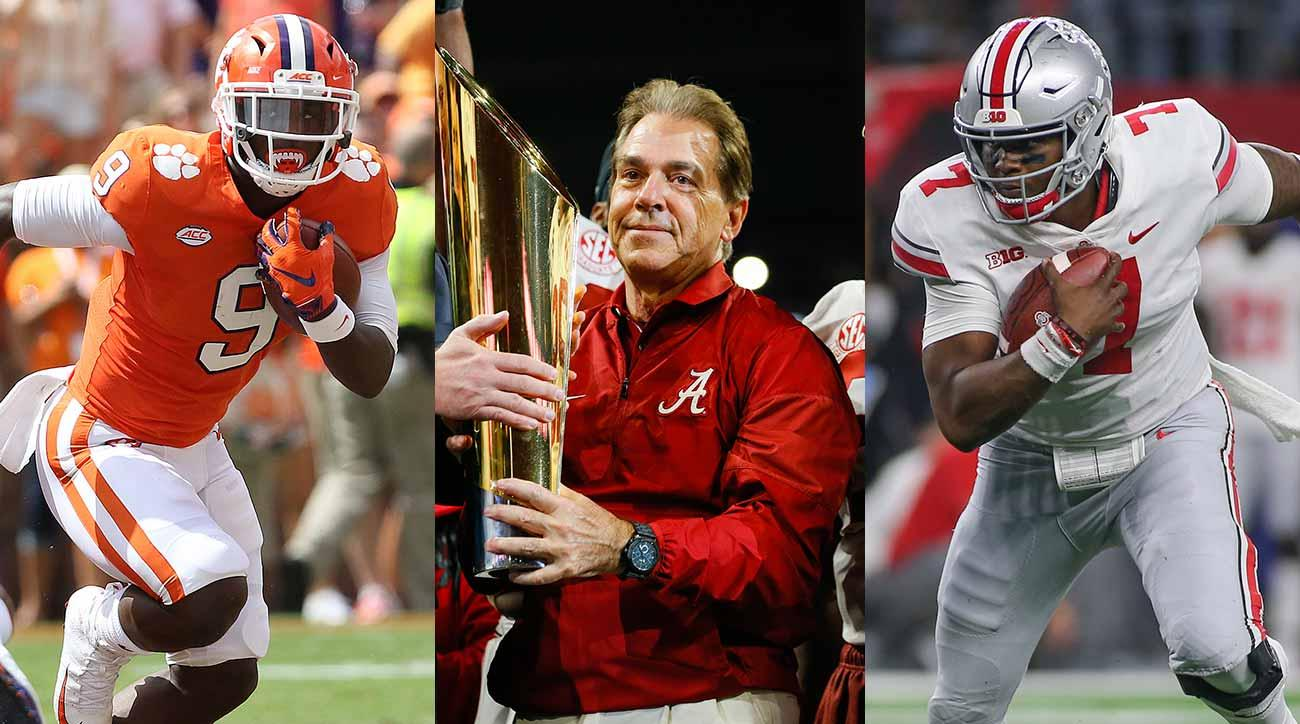 Midseason Crystal Ball: A Second Chance at SI's 2018 College Football Playoff Picks