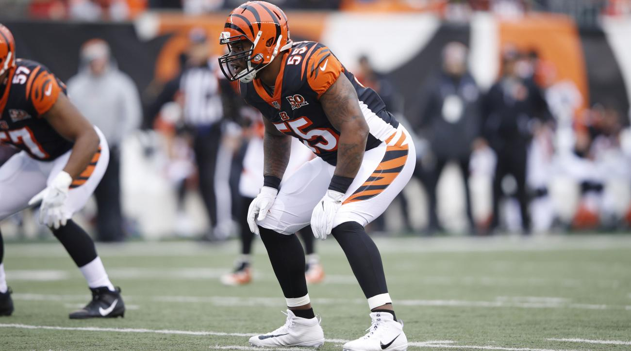 reputable site f46f4 6931f NFL reviewing hits from Bengals' Vontaze Burfict vs Steelers ...
