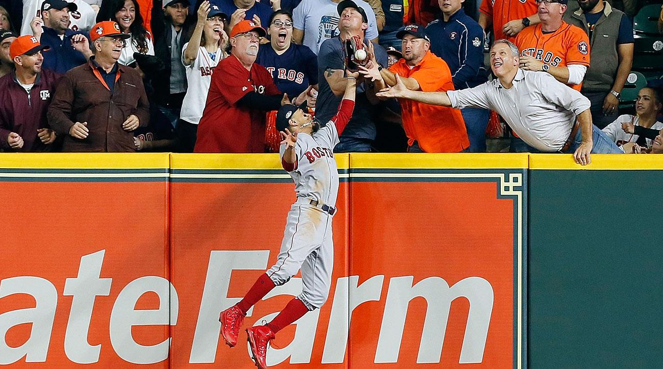 Interference or not? A fan changes the ALCS