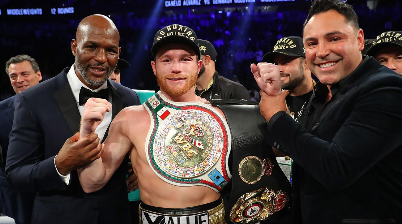 Canelo Alvarez: Middleweight champ inks massive DAZN deal
