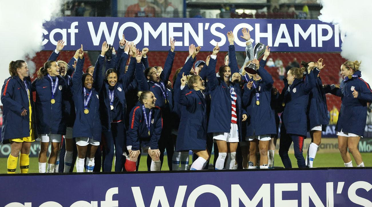 The USWNT beats Canada to win the Concacaf Women's Championship
