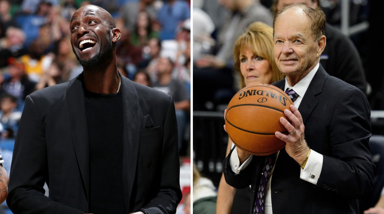 Kevin Garnett rips Timberwolves owner Glen Taylor (video)