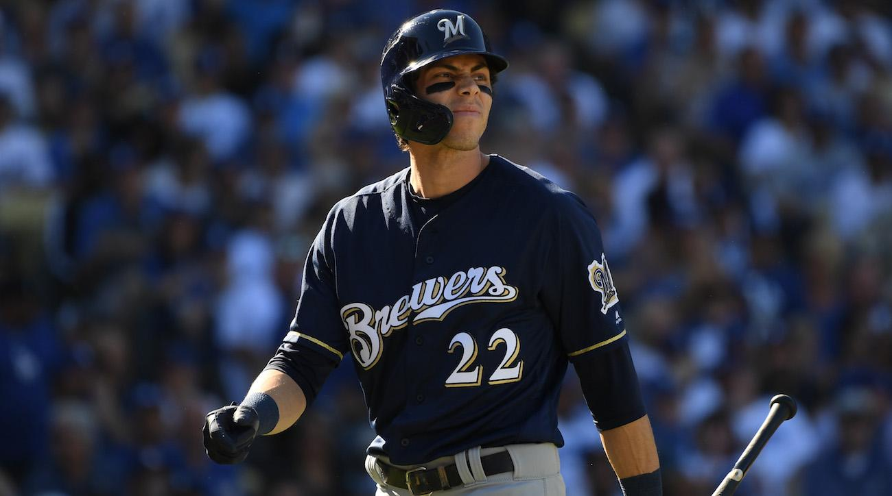 Yelich out for season with fractured knee cap