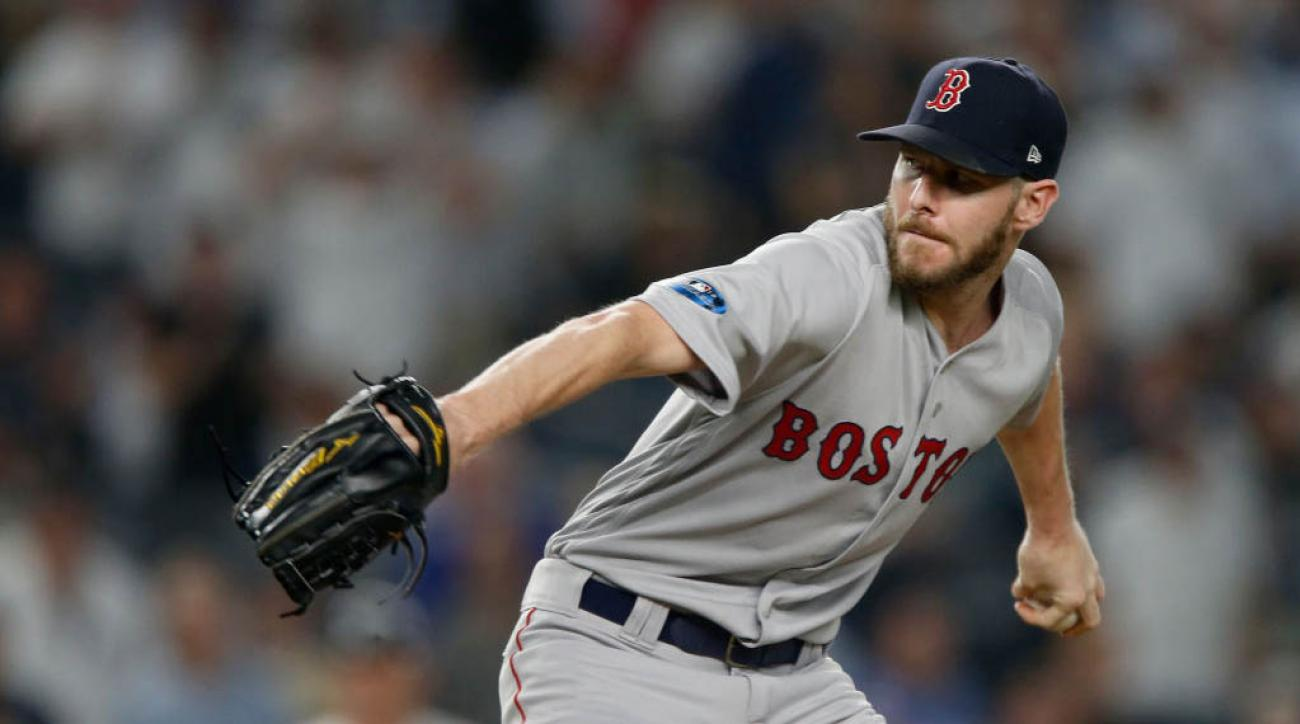 Red Sox Chris Sale Jokes Belly Ring Caused Stomach Virus Si Com