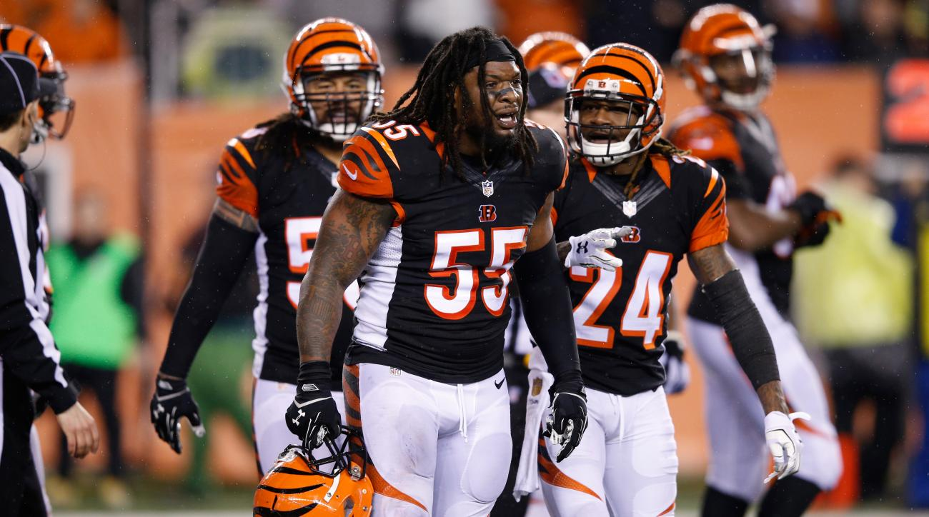 Vontaze Burfict fined: Bengals LB owes $112,000 for illegal