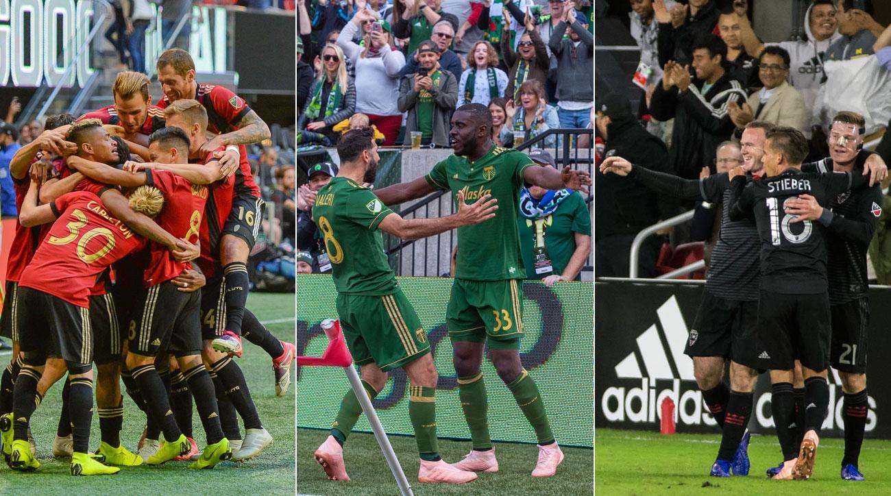 Atlanta United, Portland Timbers and DC United all win in MLS