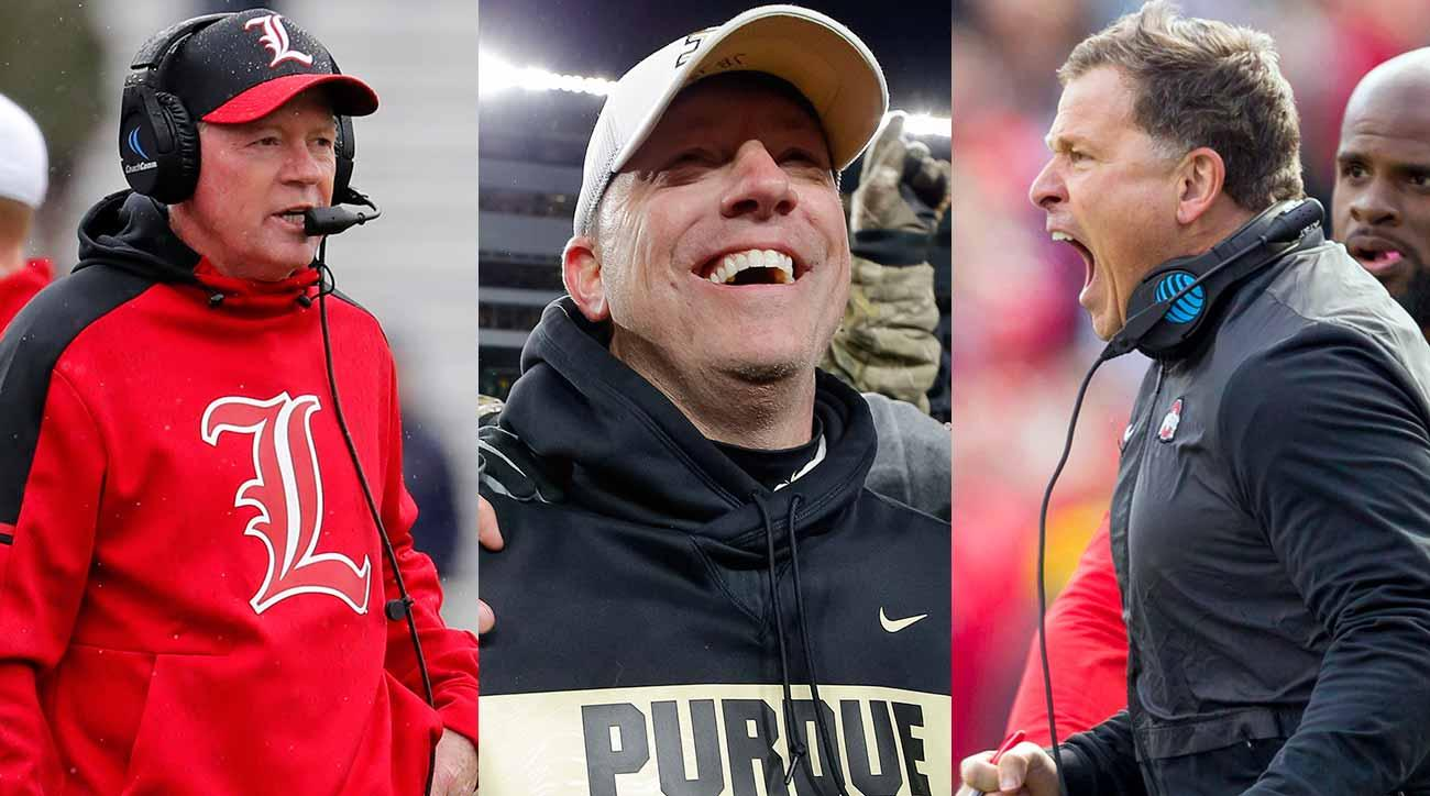 College football coaching carousel: Bobby Petrino, Jeff Brohm, Greg Schiano
