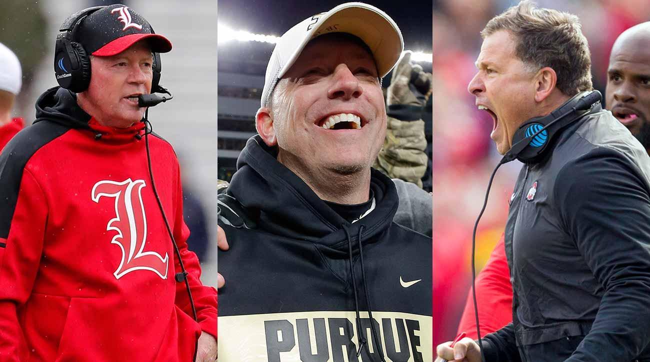 College football coaching carousel: Bobby Petrino, Jeff Brohm, Greg Schiano