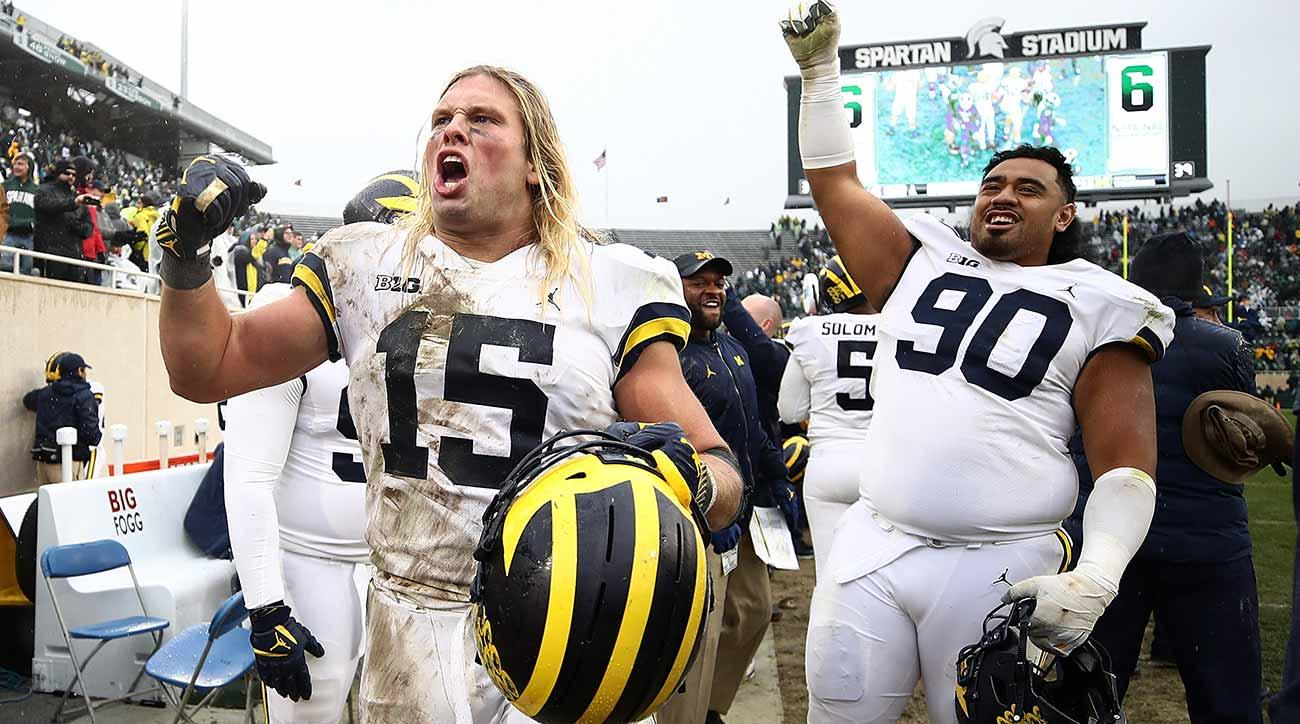College football power rankings: Michigan joins Alabama, Clemson