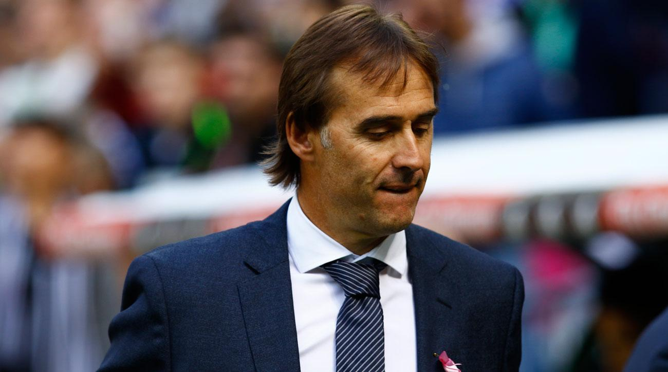 Julen Lopetegui has struggled as manager of Real Madrid