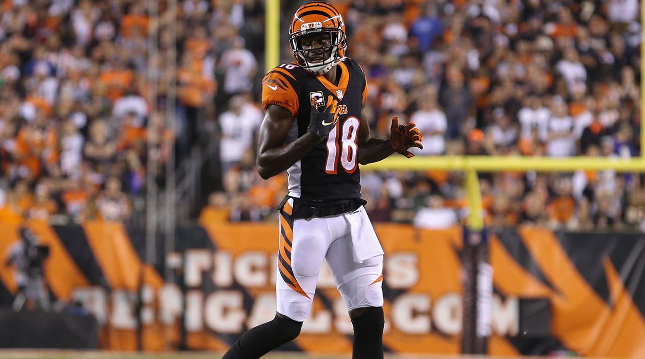Bengals WR AJ Green