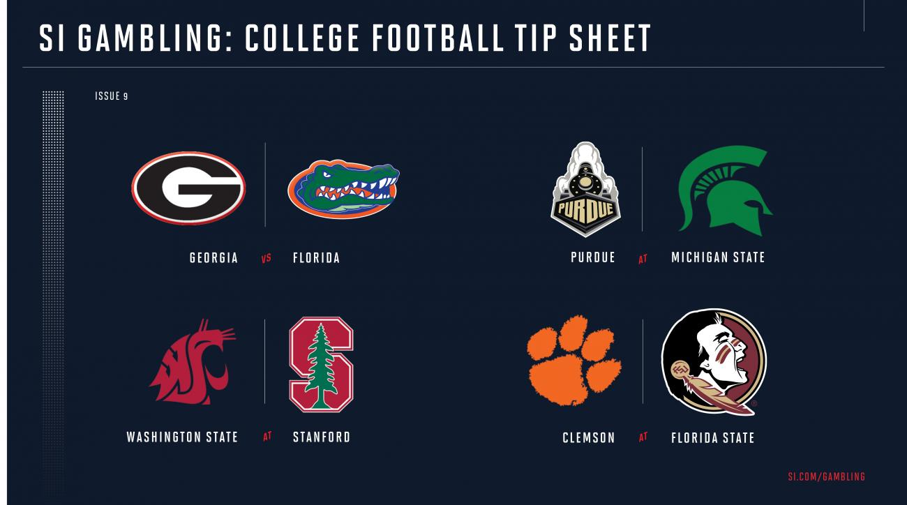 image about Nfl Week 9 Schedule Printable referred to as University soccer 7 days 9 betting consultant: Likelihood, selections for each