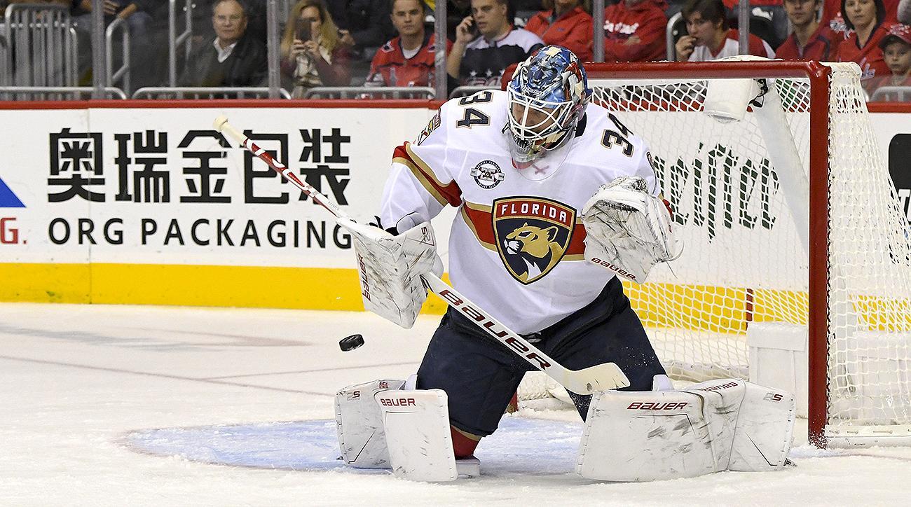 NHL: OCT 19 Panthers at Capitals