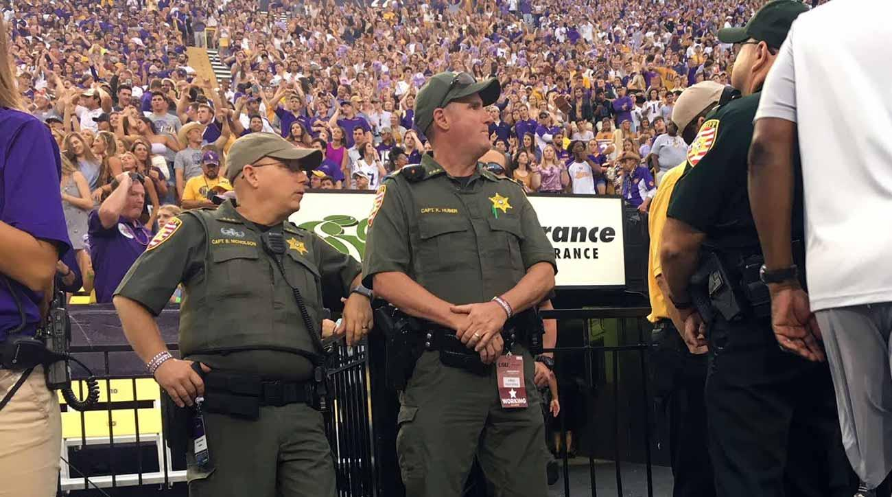 LSU vs. Alabama: How Tiger Stadium law enforcement handles Baton Rouge game day