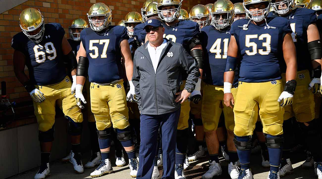 Notre Dame vs. Navy: Fighting Irish set for hectic final month of travel
