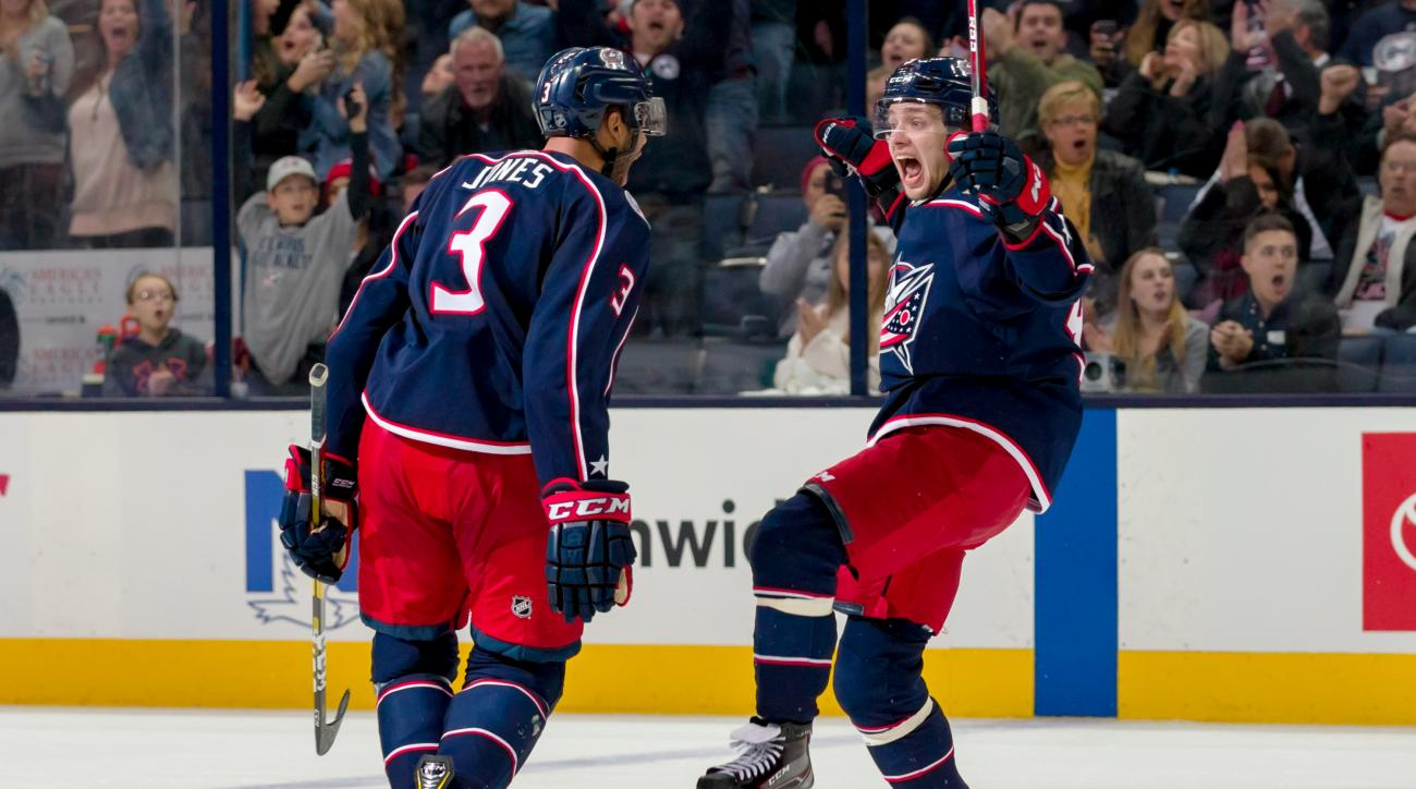 NHL: OCT 27 Sabres at Blue Jackets