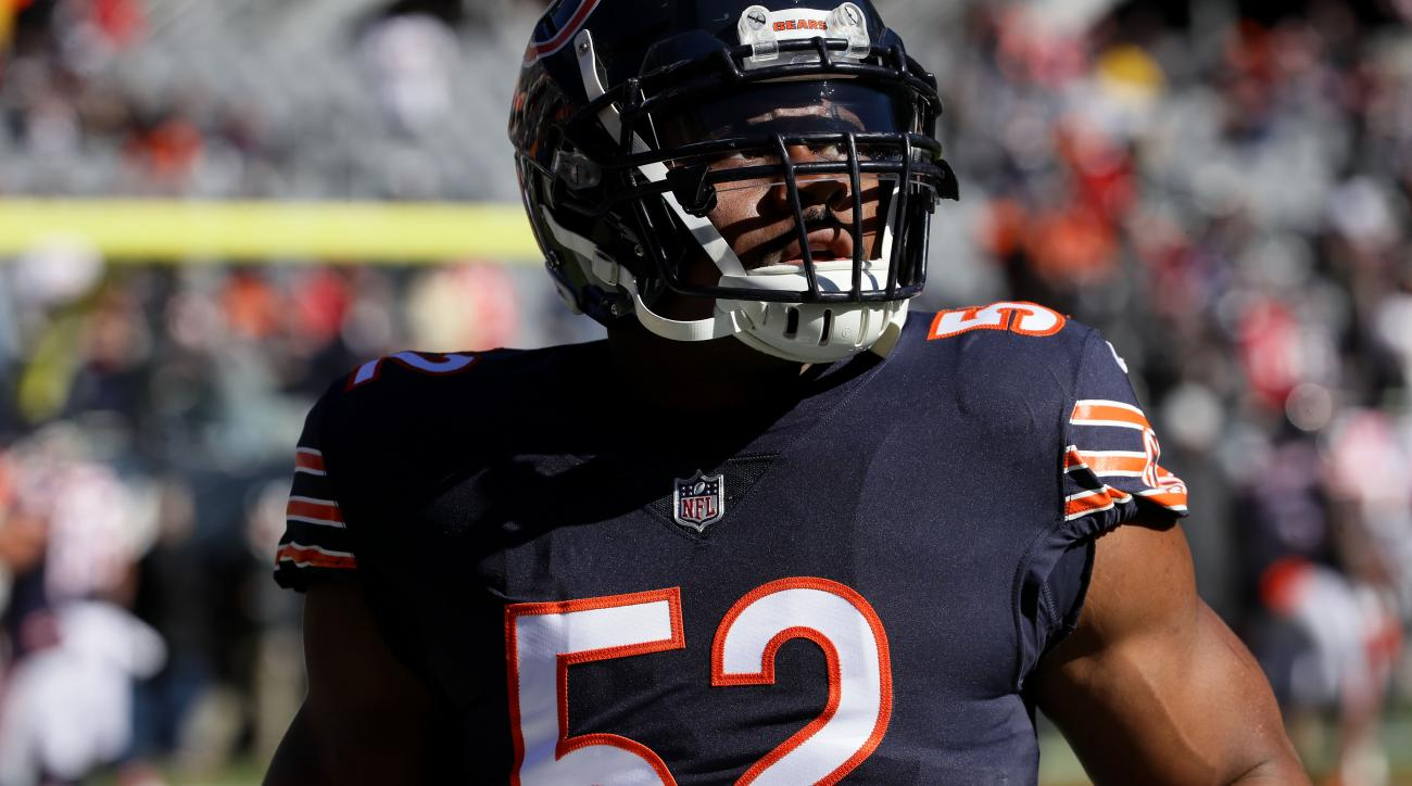 db8baa69dae Khalil Mack ankle injury news  Bears pass rusher out vs Jets