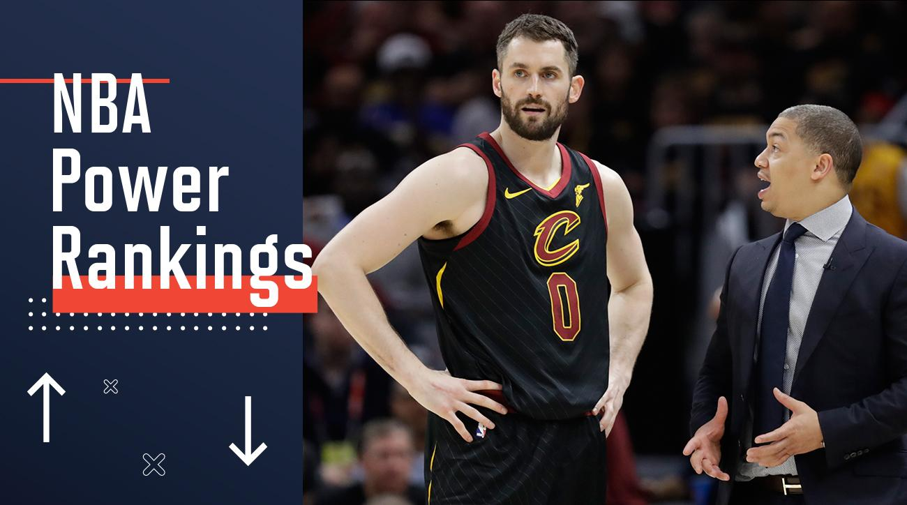 2bf36a34e NBA Power Rankings  Cavaliers Continue to Sink Without LeBron James