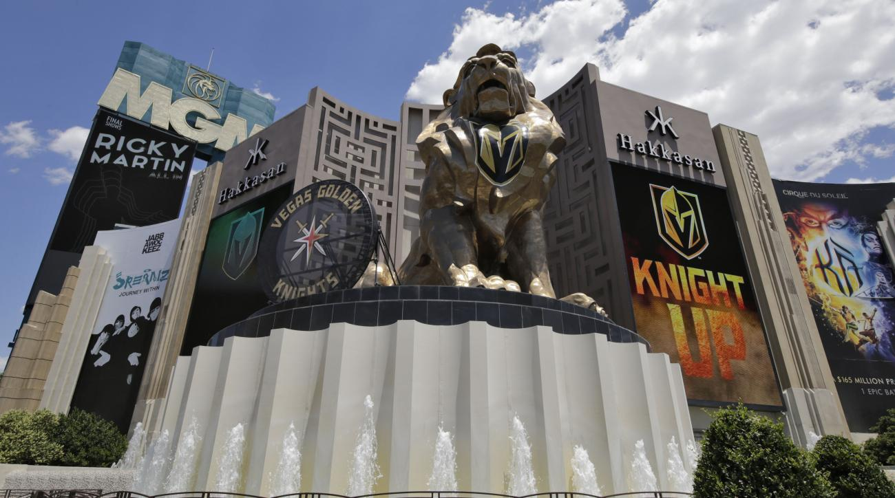 NHL announces deal with MGM as official sports betting partner
