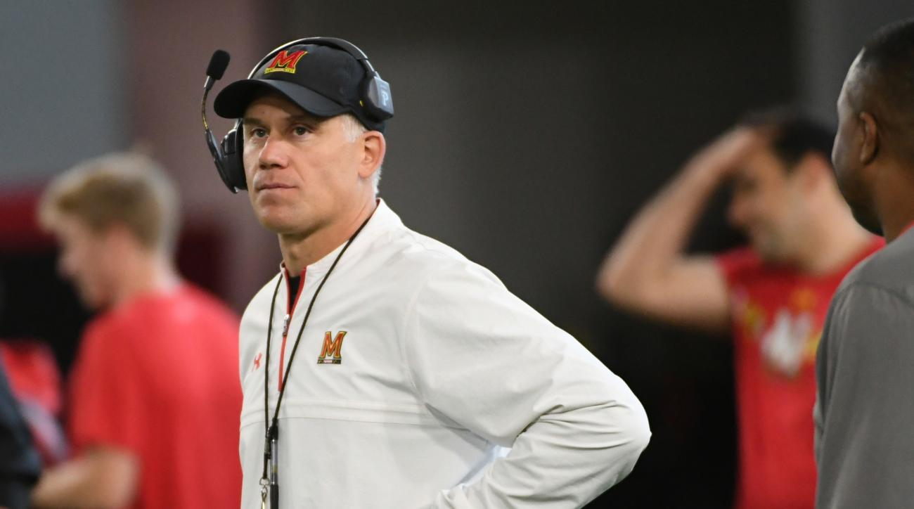 Maryland players walk out of meeting with Durkin