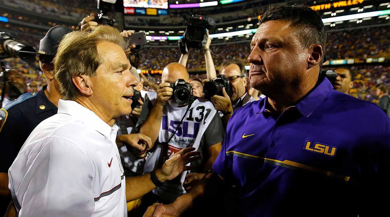 Alabama vs. LSU: Nick Saban, Ed Orgeron recruiting battle never stops