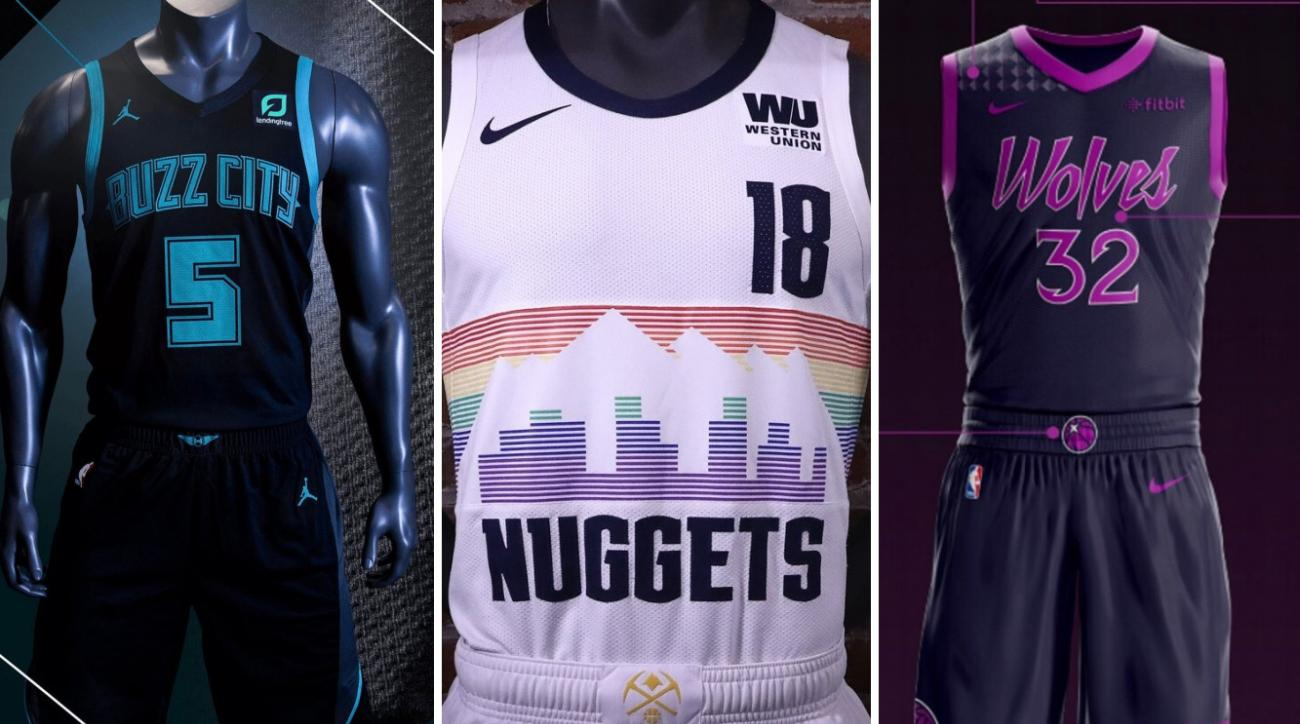 timeless design 07b4d acca6 NBA City Edition jerseys: Best, worst uniforms (photos) | SI.com