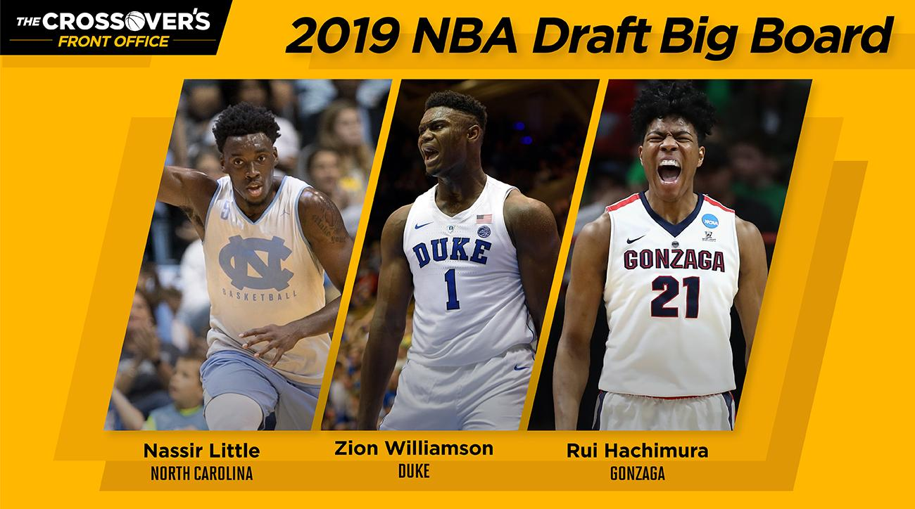 32cc1522775 2019 NBA Draft Big Board  Top 60 Prospects As College Basketball Tips Off