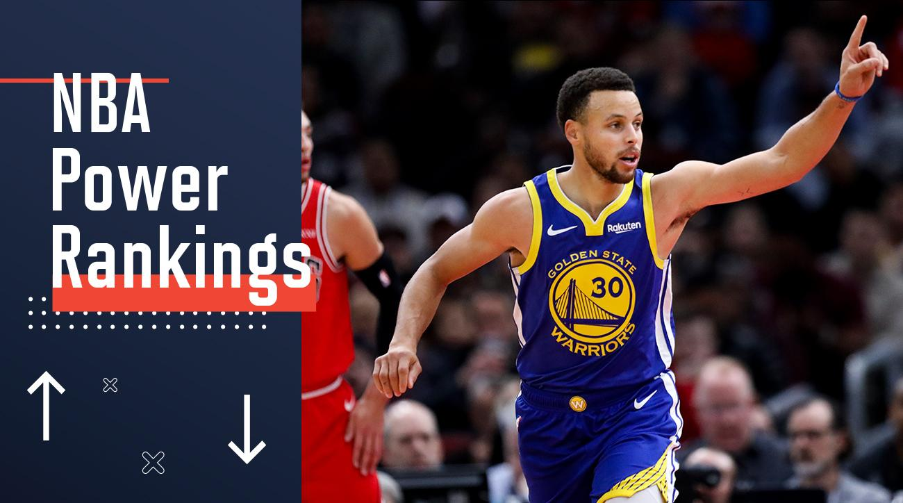 ef9cb24ce912 NBA Power Rankings  Warriors Claim Top Spot After Historic Week