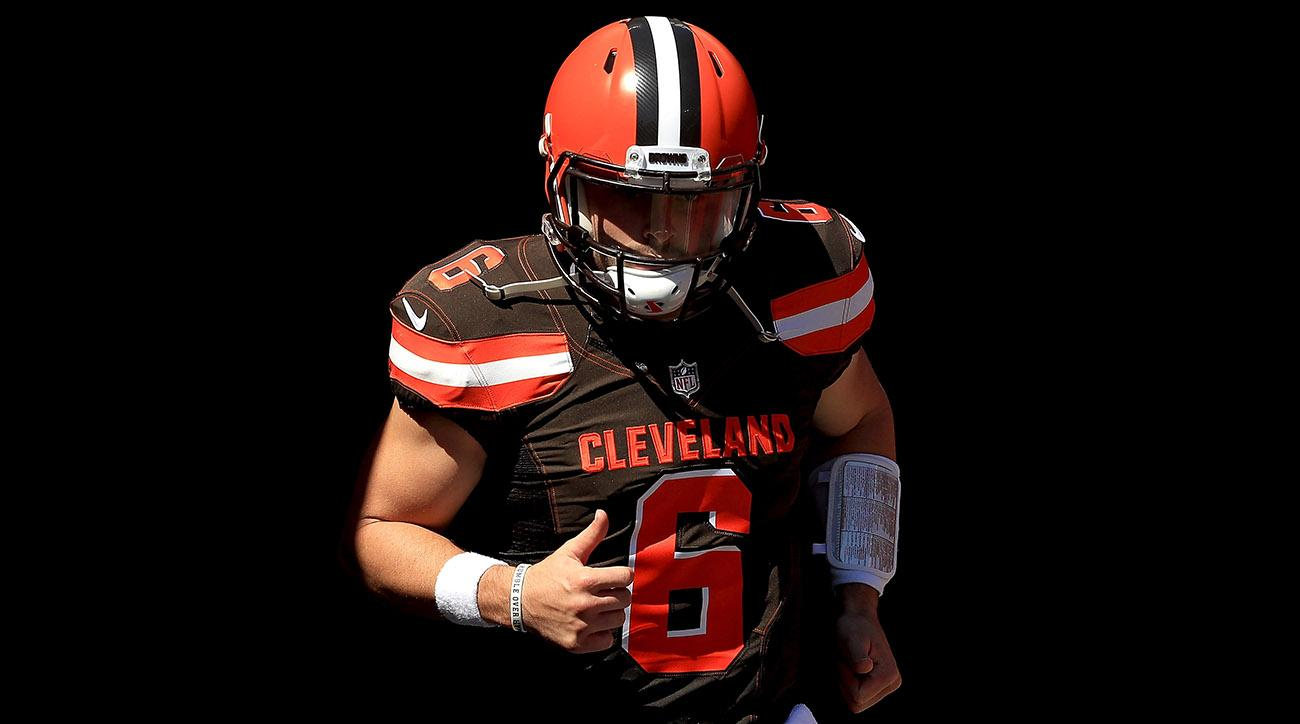 275dbfb9 Dysfunction in Cleveland: Hue Jackson's Paranoid Final Days and Baker  Mayfield's Resilience