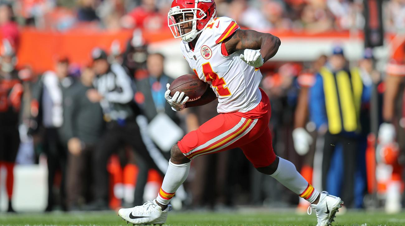 online retailer a6f40 38314 Sammy Watkins injury updates: Chiefs WR could miss Week 10 ...