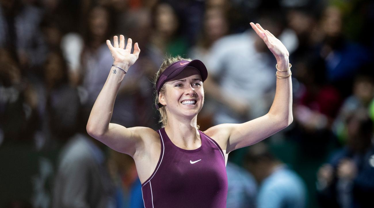Elina Svitolina Singapore year end wta finals mailbag