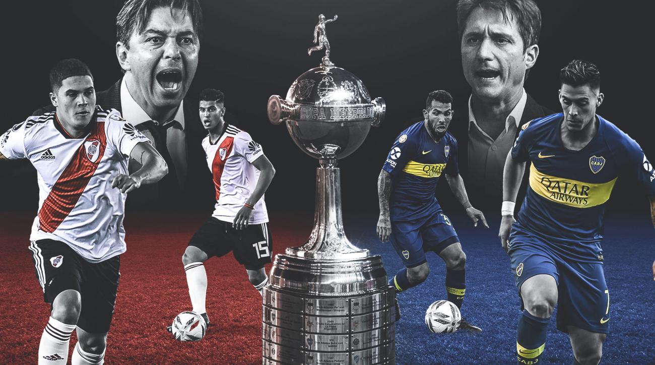 Boca Juniors will meet River Plate in the Copa Libertadores final
