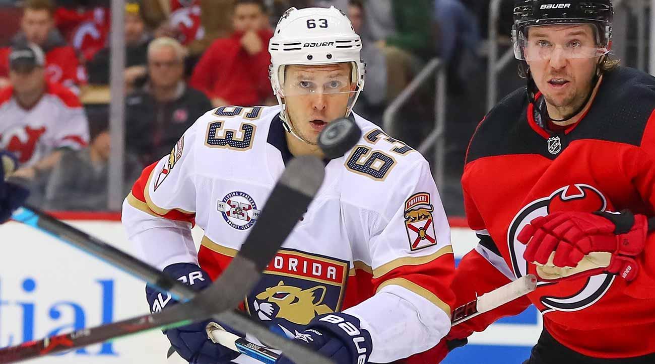 Evgenii Dadonov: Florida Panthers leading scorer at home in second NHL trip