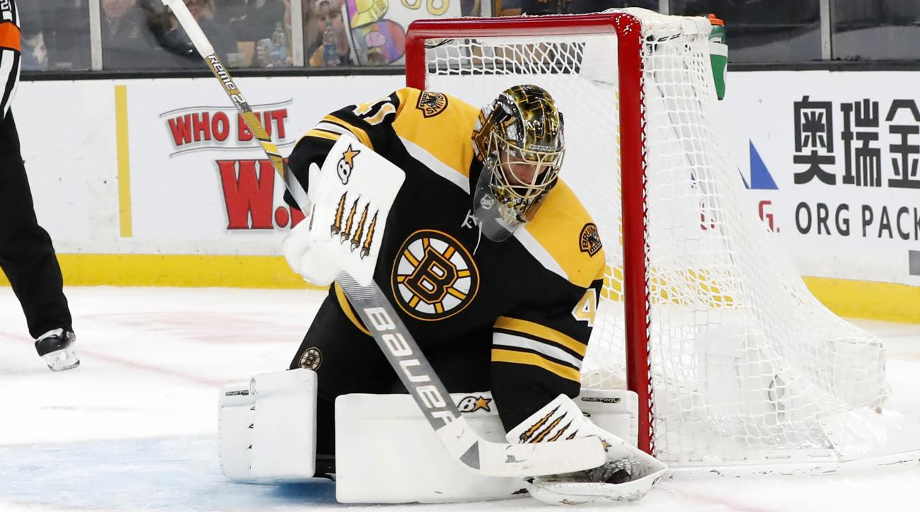 NHL: NOV 11 Golden Knights at Bruins