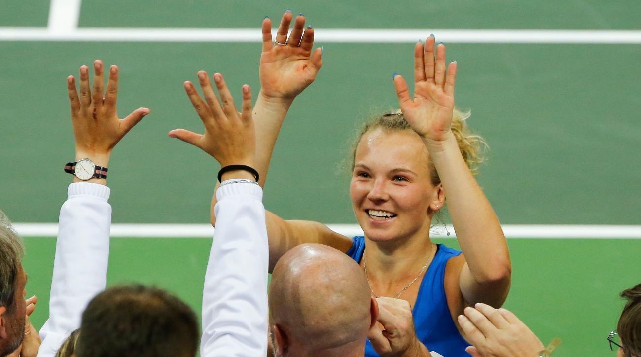 Katerina Siniakova Fed Cup Czech Republic