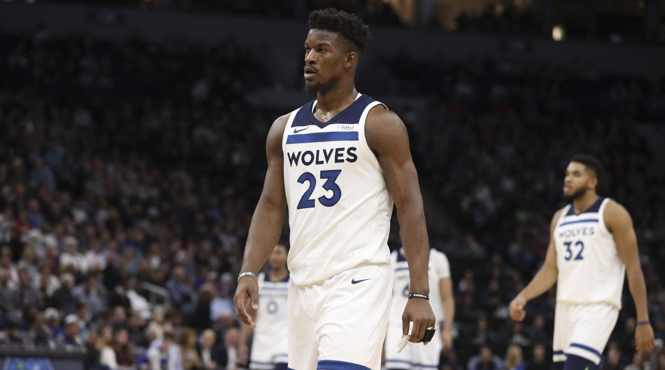 timeless design 9a1ac b4a8a Jimmy Butler Trade: Can the 76ers' new star fit with Embiid ...