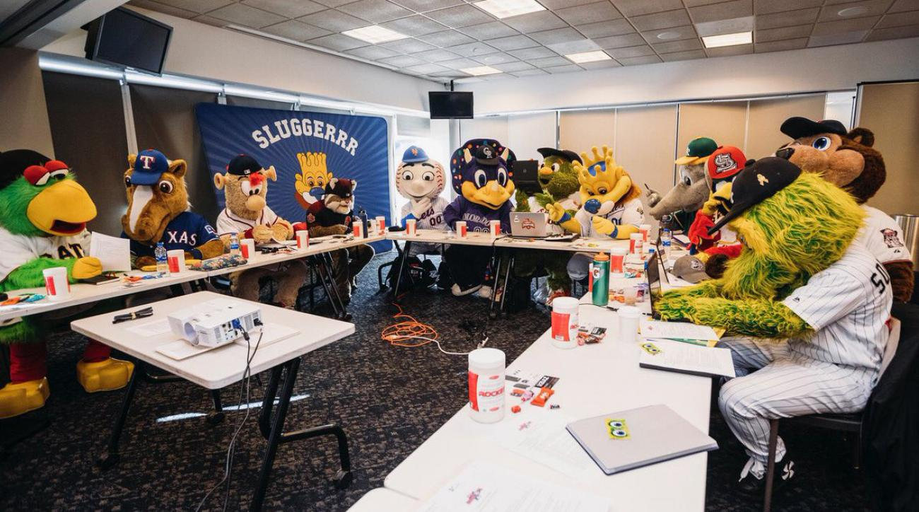 MLB Mascot Conference in Kansas City a vital part of the job