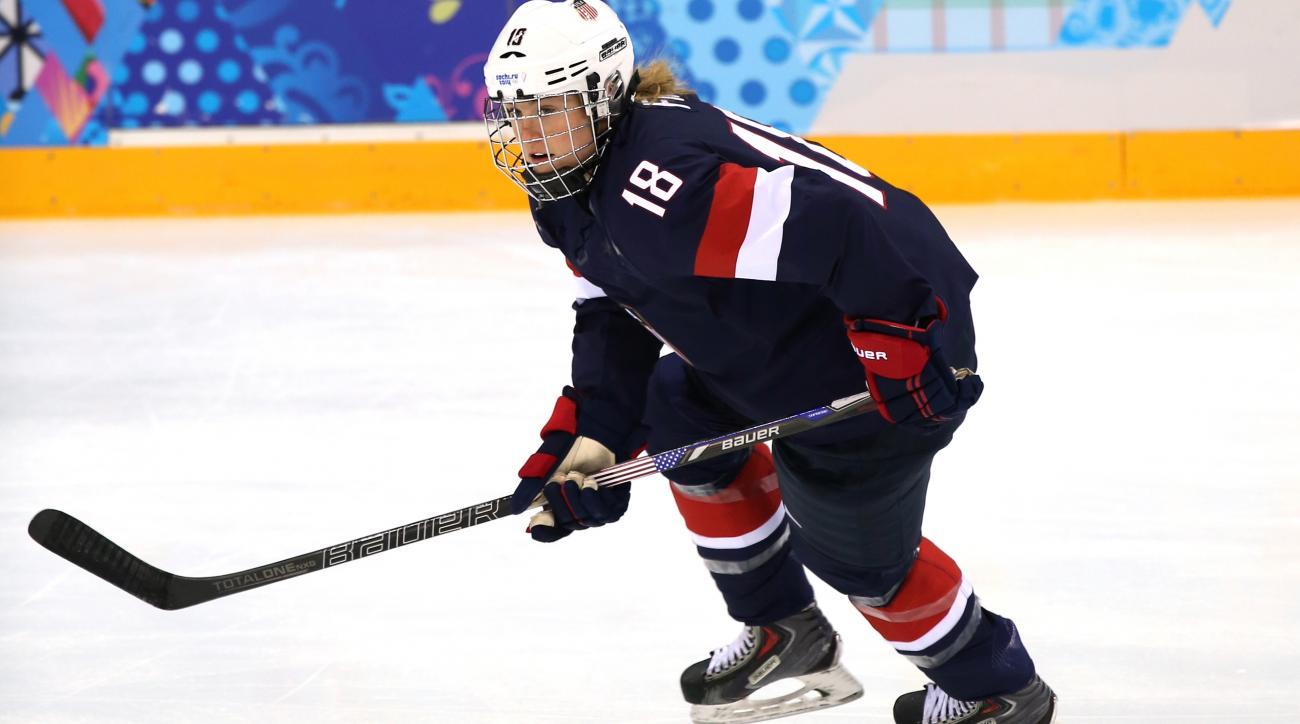 Ice Hockey - Winter Olympics Day 3 - United States v Switzerland