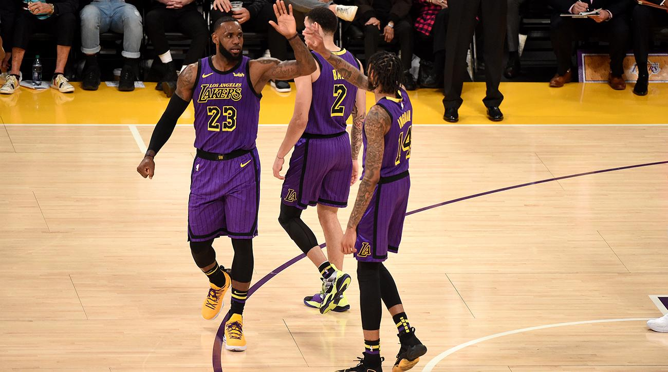 separation shoes c45eb 9cfe8 LeBron James: Passes Wilt in best game of Lakers tenure | SI.com