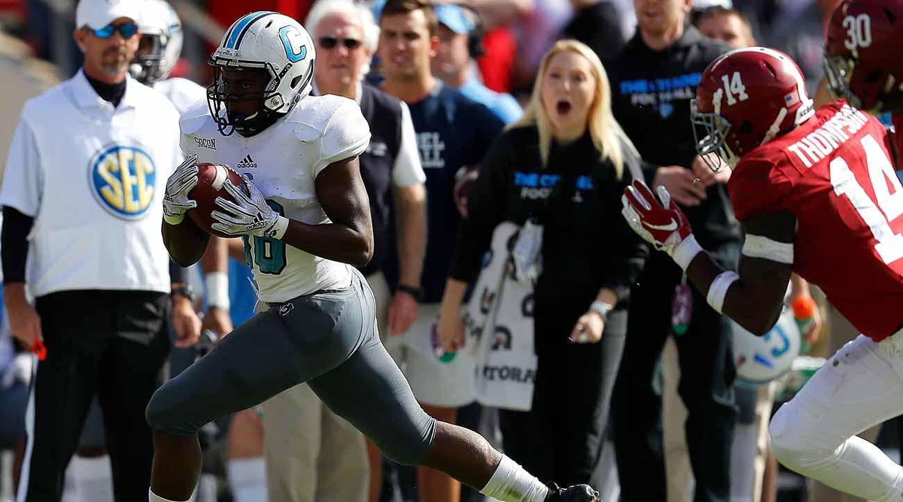 The Citadel vs. Alabama: Crimson Tide struggles for a half vs. FCS team