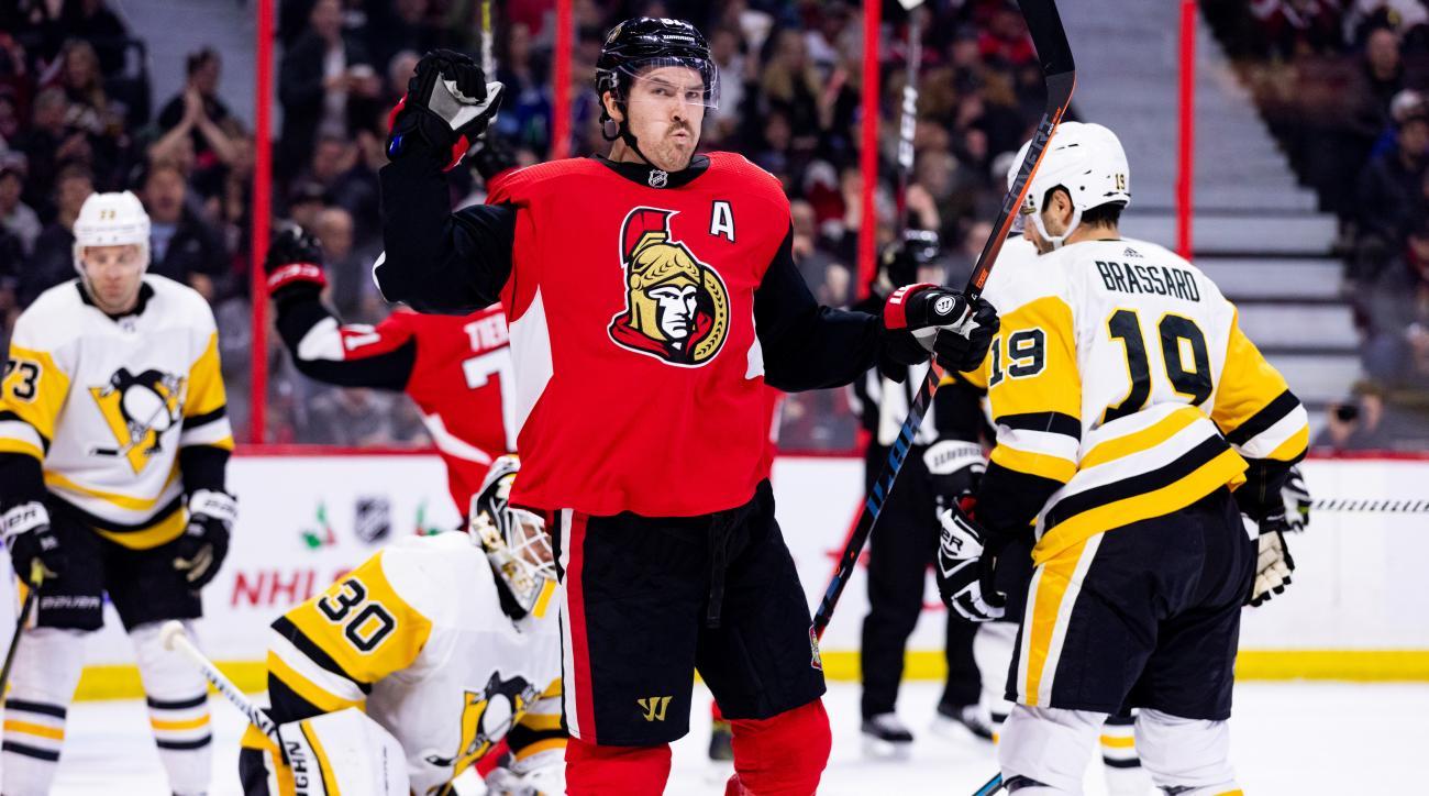 NHL: NOV 17 Penguins at Senators