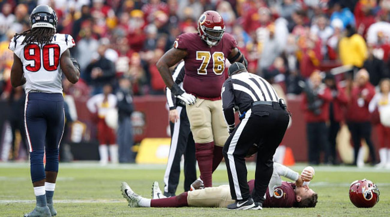 VIDEO Redskins QB Alex Smith Suffers Gruesome Ankle Injury