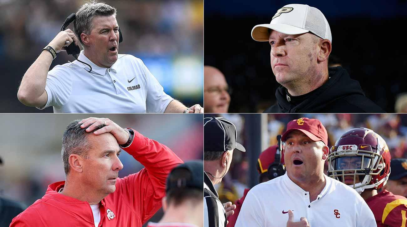 College football coaching carousel rumors: Urban Meyer, Clay Helton, Kliff Kingsbury and more