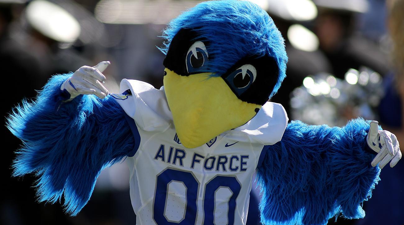 Air Force Falcons mascot